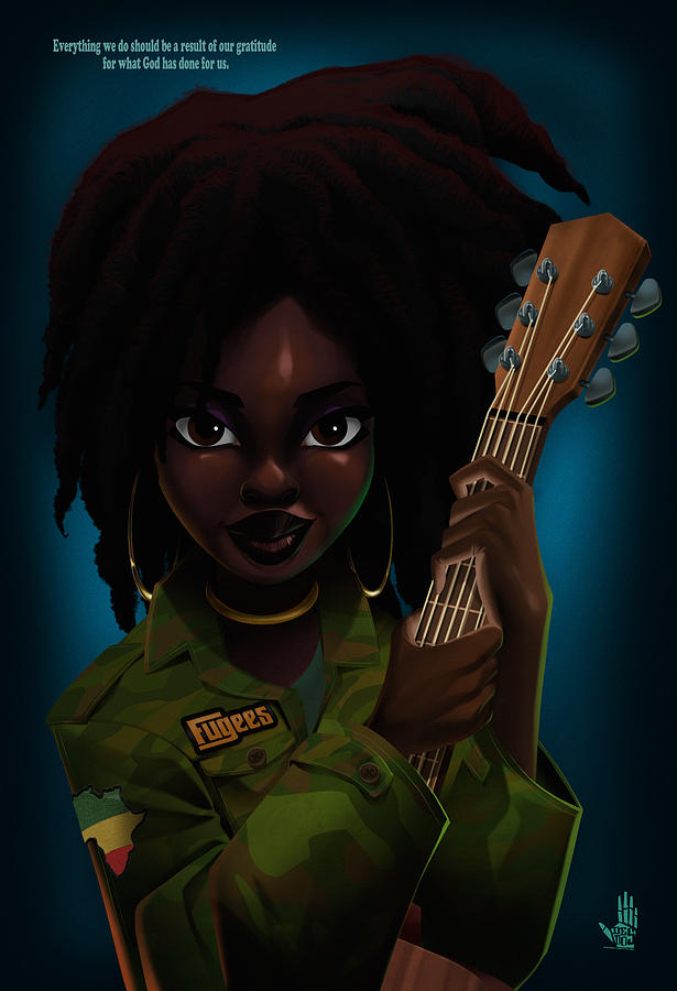 Lauryn Hill by Nelson Dedos Garcia