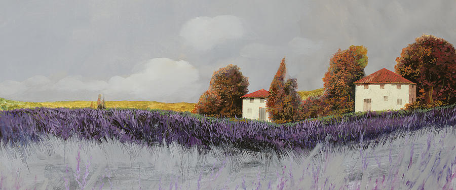 Lavanda Orizzontale Painting