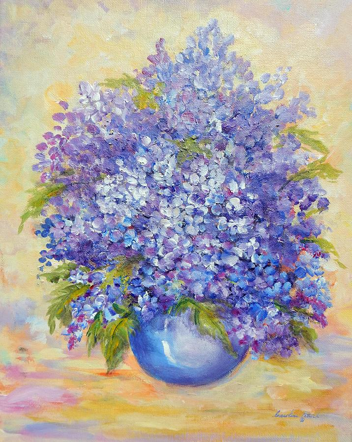 Plants Painting - Lavender by Caroline Patrick