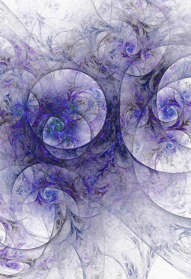 Fantasy Digital Art - Lavender Dreams by David Lane