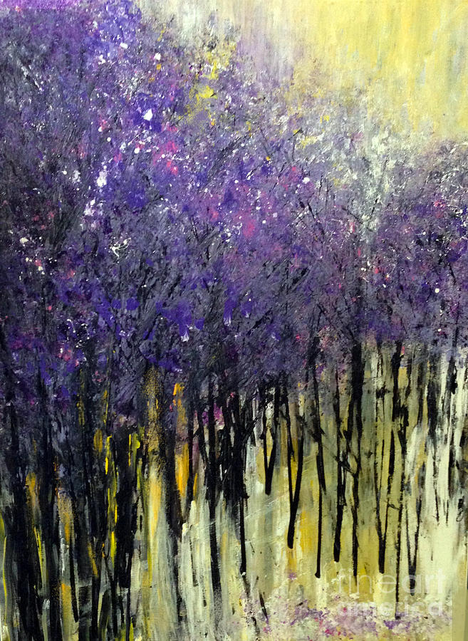 Lavender Painting - Lavender Dreams by Priti Lathia