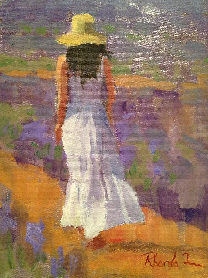 Lavender Fields  Painting by Studio V