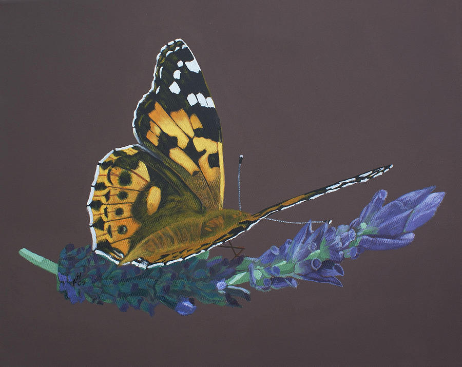 Lavender Rest by Frank Hamilton