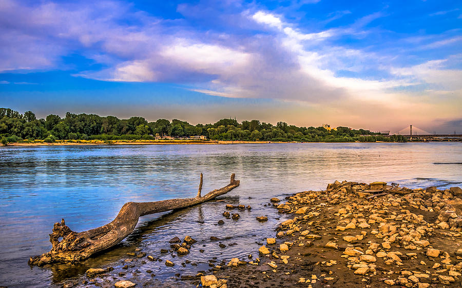 Law Water Vistula River View Photograph