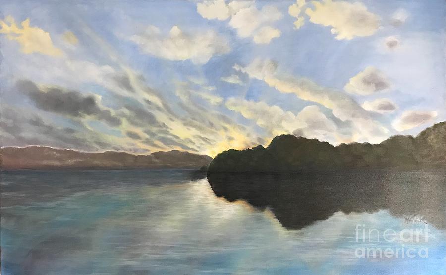 Lay Lady Lay Lake by M J Venrick