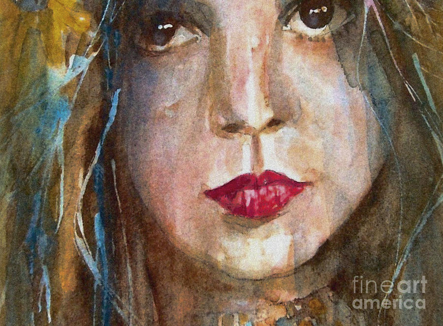 Lay Lady Lay Painting - Lay Lady Lay by Paul Lovering