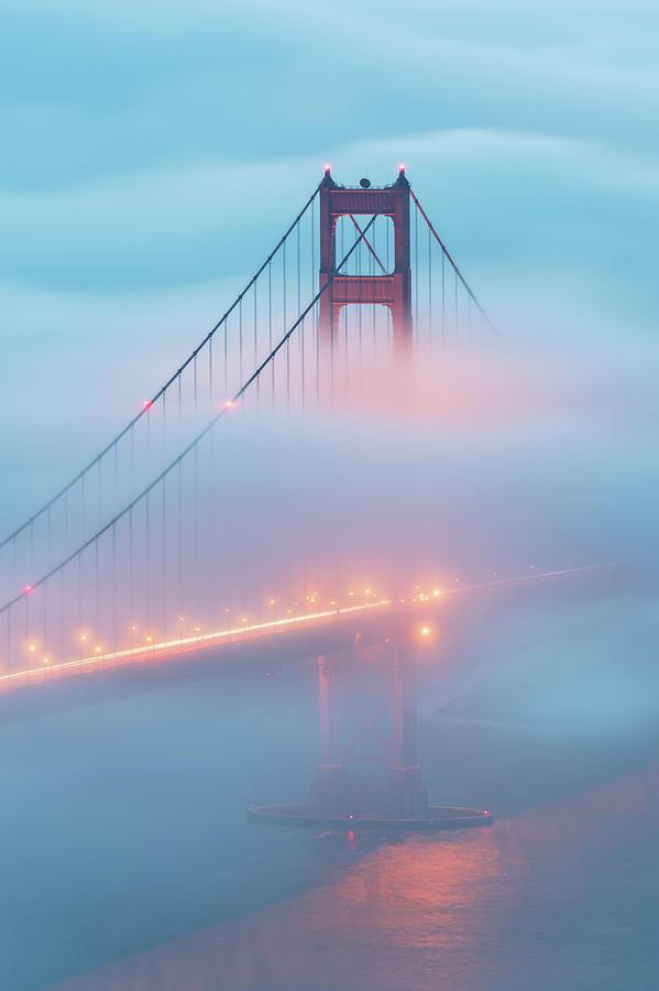San Francisco Photograph - Golden Glow by Dustin LeFevre