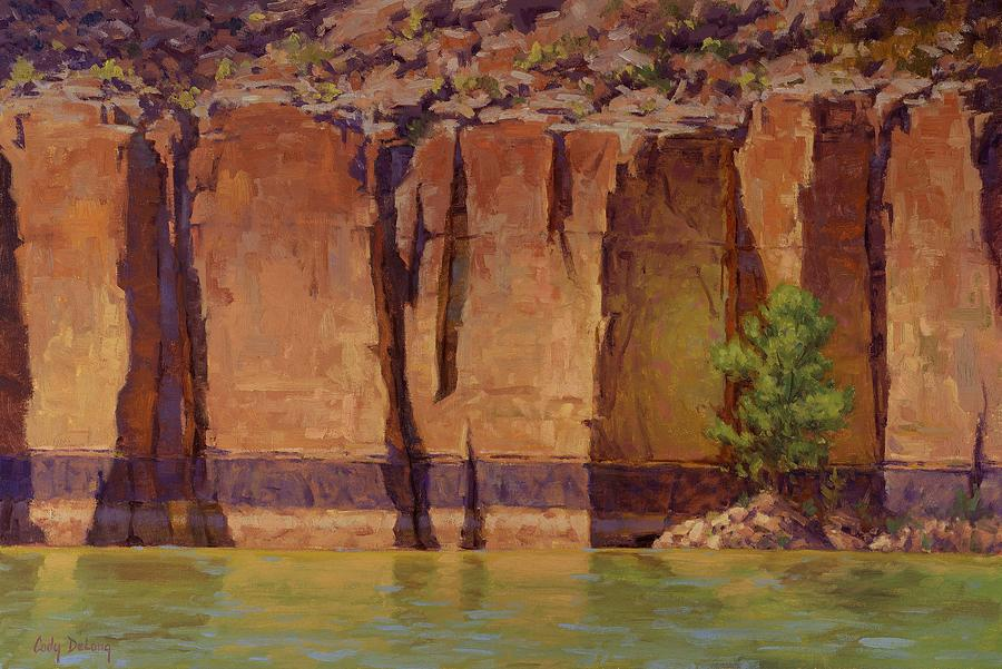 Grand Canyon Images Painting - Layers In Time by Cody DeLong