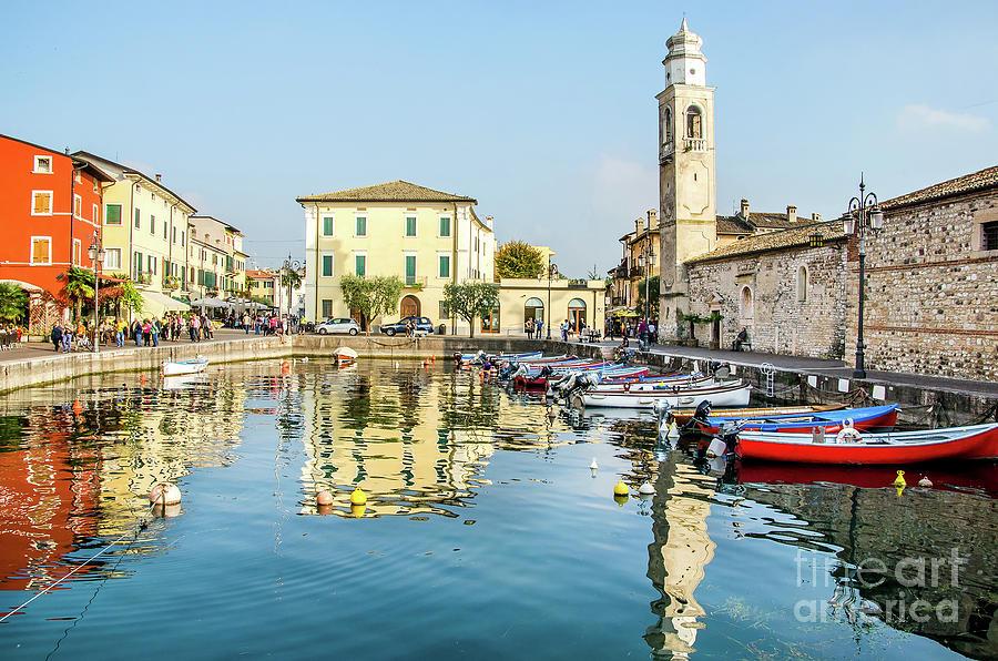Bardolino Photograph - Lazise Lago Di Garda Verona Veneto Italy by Luca Lorenzelli
