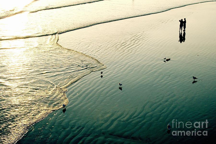 Pacific Photograph - Lazy Tide by Viktor Savchenko