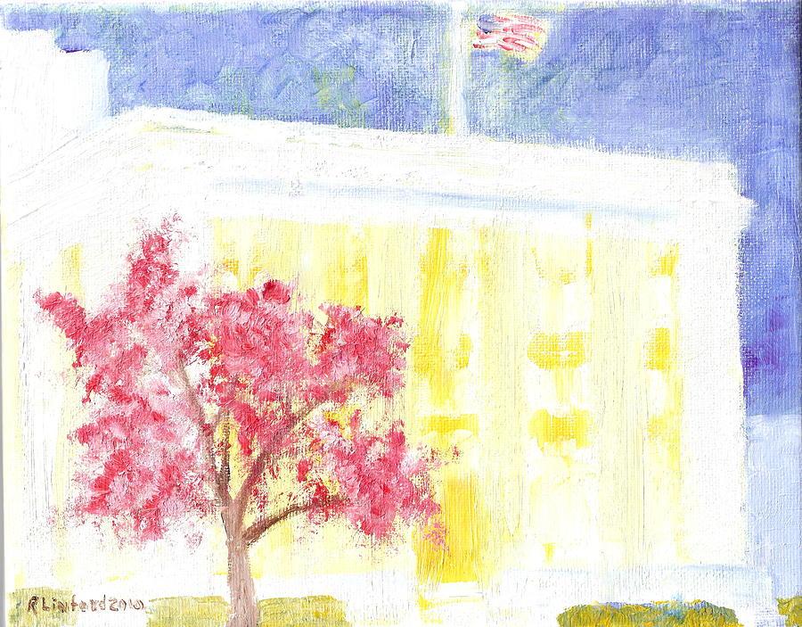 Lds Church Headquarters Painting - Lds Church Headquarters 2 by Richard W Linford