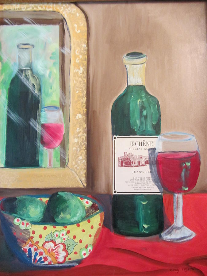 Le Chene Still Life by Dody Rogers