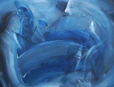 Blue Painting - Le Ciel Sombre Sur Versailles by Jay Roler