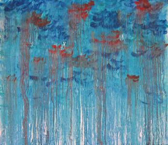 Abstract Expressionism Painting - Le Divorce by Sierra Bailey
