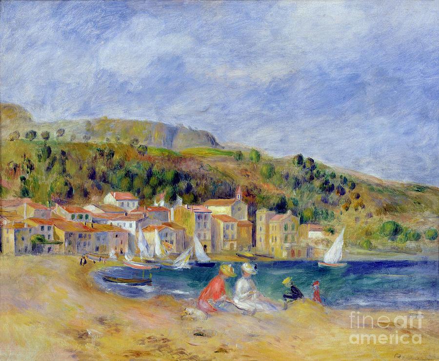 Pierre Auguste Renoir Painting - Le Lavandou by Pierre Auguste Renoir