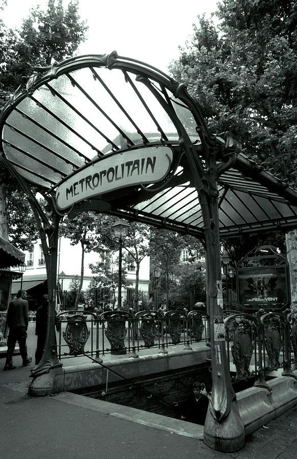 Le Metro As Art Photograph By Kathy Yates