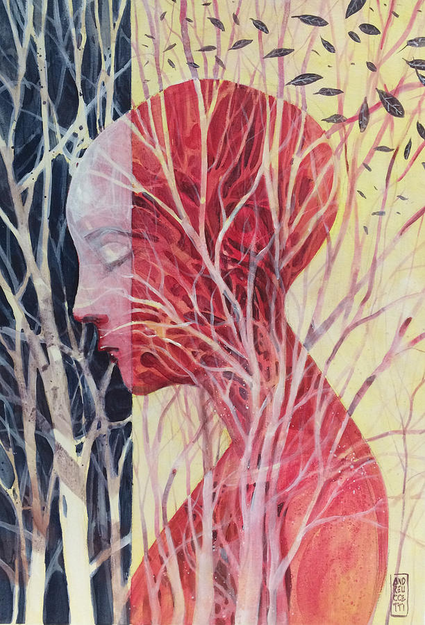 Roots Painting - Le Mie Radici by Alessandro Andreuccetti
