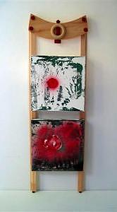 Chinese Mixed Media - Le mulot 2005 by Annick Gauvreau
