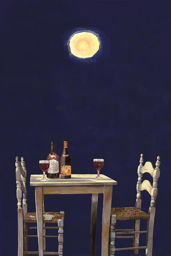 Le Ombre Della Luna Painting
