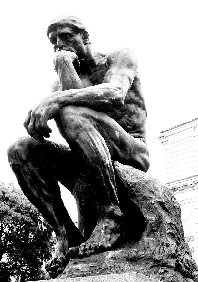 Le Penseur Photograph by Daniel Thompson