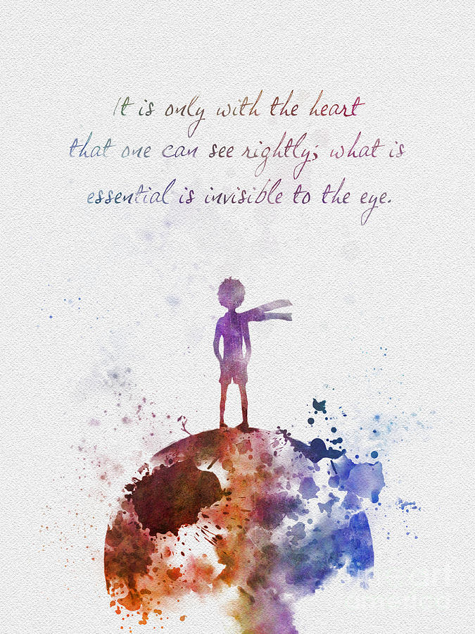 Le Petit Prince Mixed Media By My Inspiration