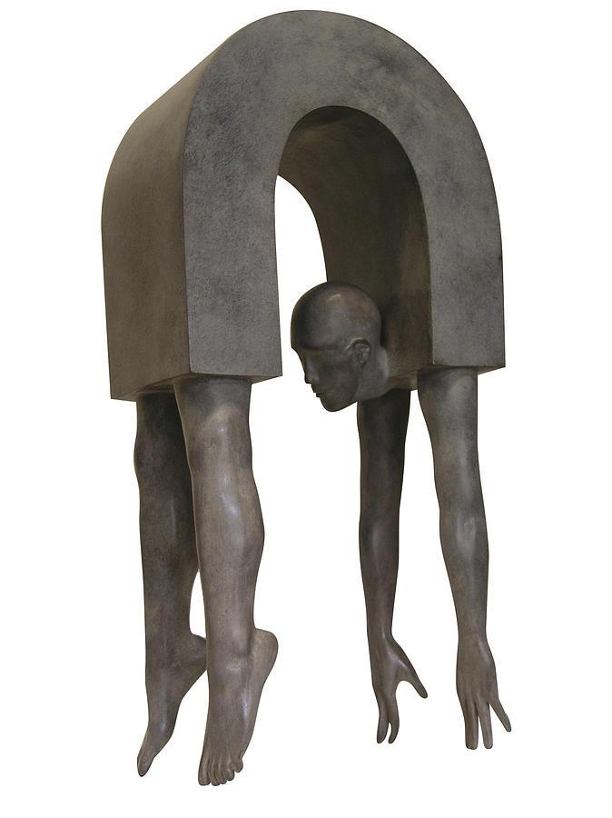 European Sculpture Sculpture - Le Pont by Corby