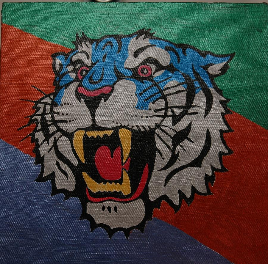 Le Tigre Painting by Mikey Milliken