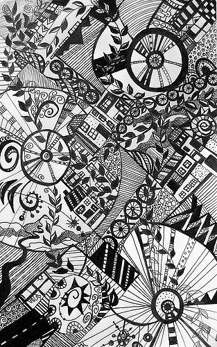 Bike Riders Drawing - Le Tour by Jacqui Douglas