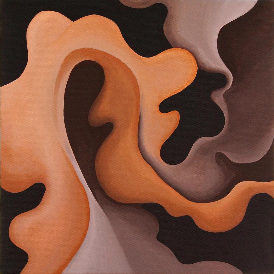 Leaf Painting - Leaf by Bonnie Kelso