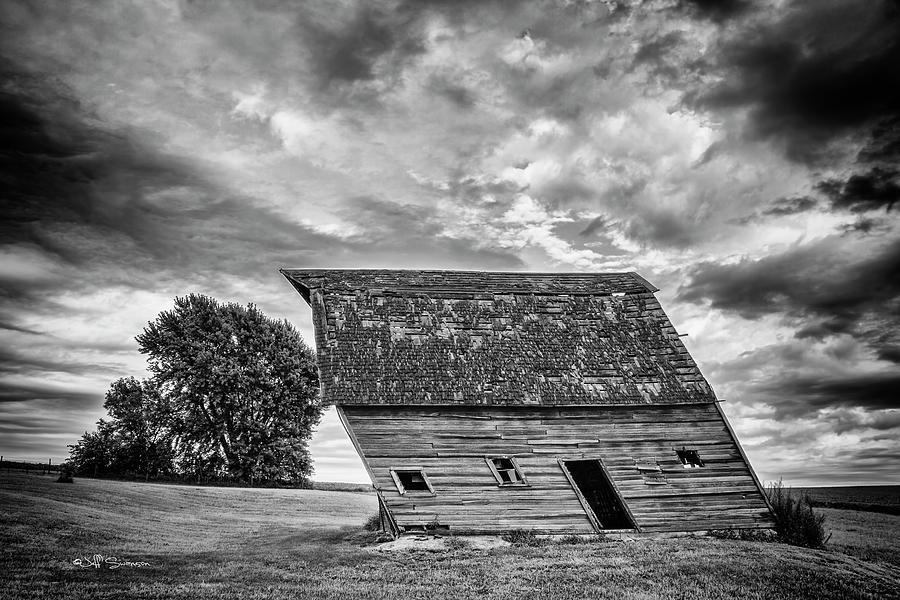 Leaning Barn of Tuttle by Jeff Swanson