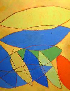 Leaning On Lemons Painting by Angielena Chamberlain