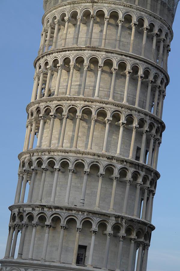 Pisa Photograph - Leaning... by Stanislovas Kairys
