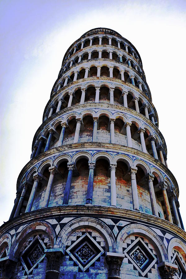 Leaning Photograph - Leaning Tower Of Pisa In Tuscany, Italy by HelenaP Art