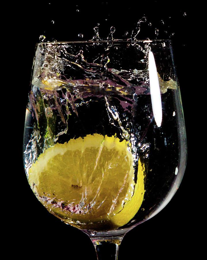 Lemon Photograph - Leau De Lemon by Ed James