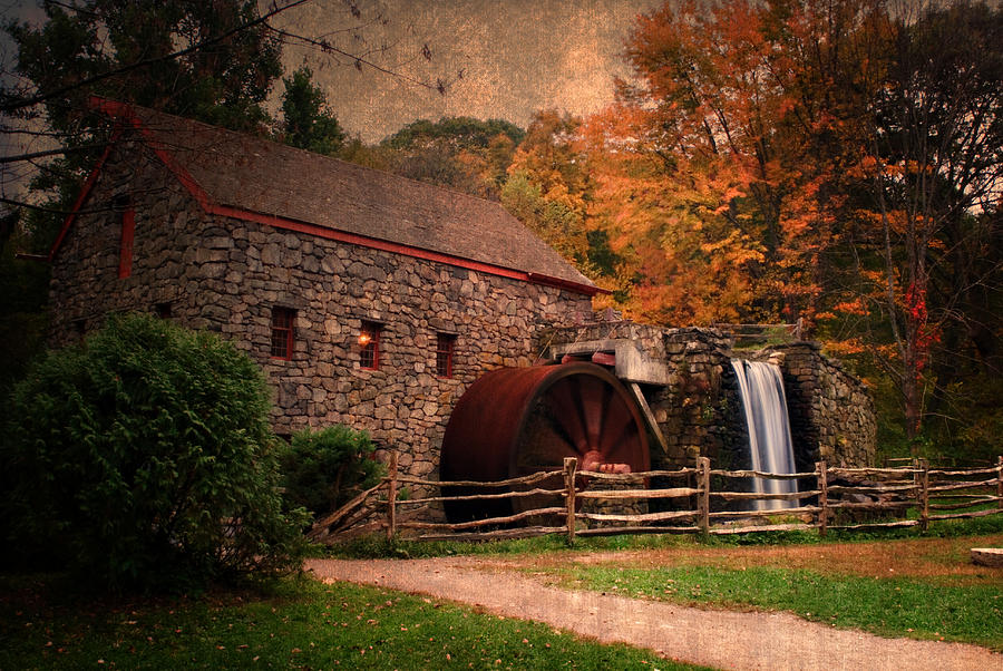 Mill Photograph - Leave A Light On For Me by Renee Hong