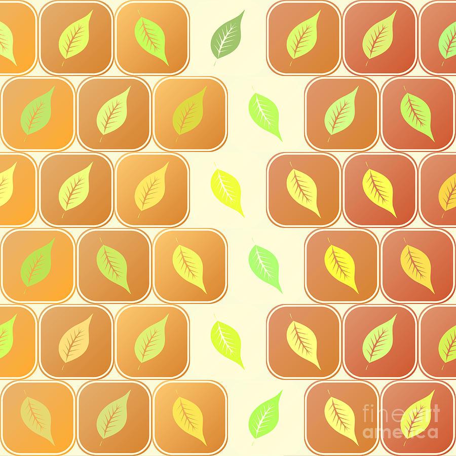 Leaves Digital Art - Leaves by Gaspar Avila