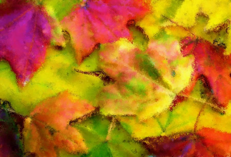Fall Painting - Leaves Of Fall by Harry Dusenberg