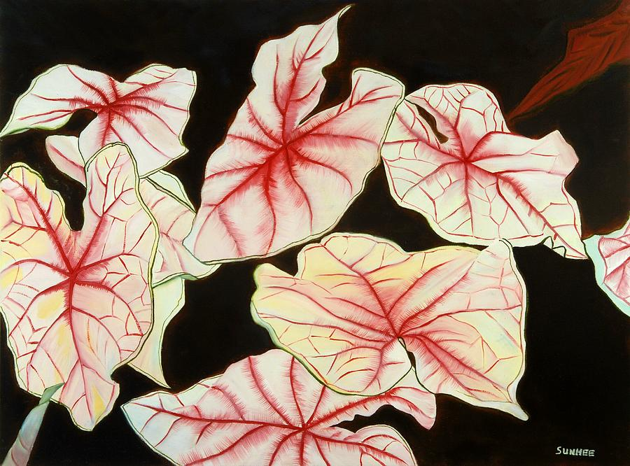 Leaves Painting - Leaves by Sunhee Kim Jung