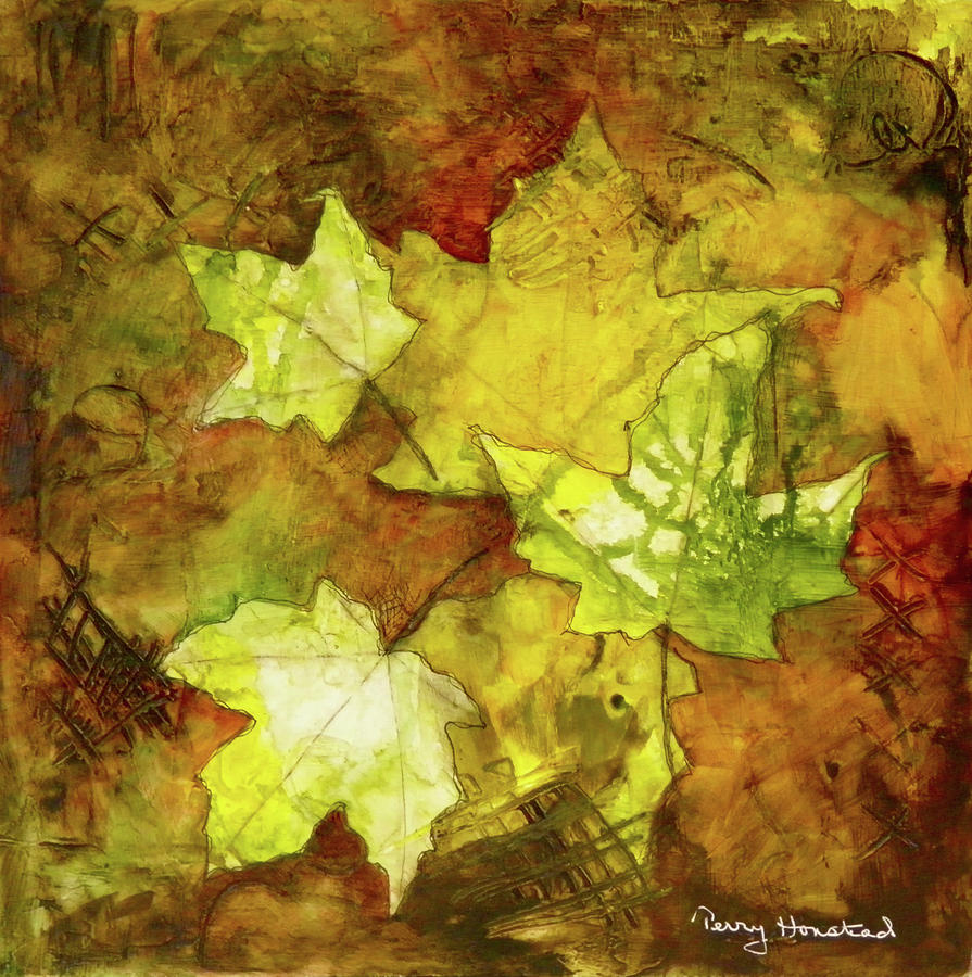 Leaves by Terry Honstead