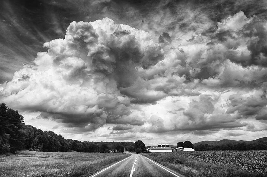Leaving Hartland Photograph