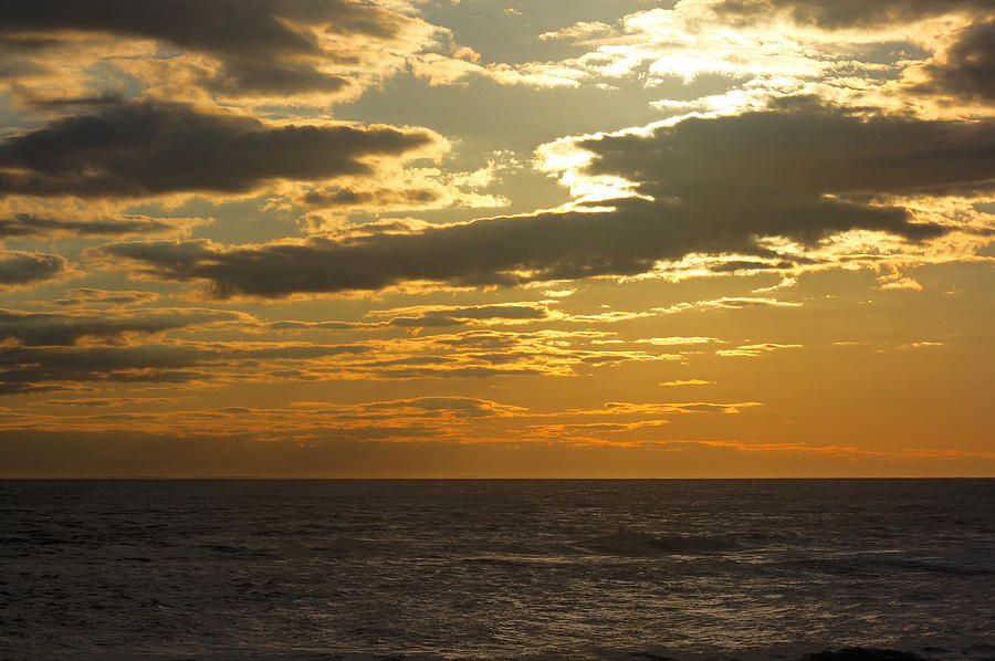 Ocean Photograph - Leaving New Jersey by Kevin  Sherf