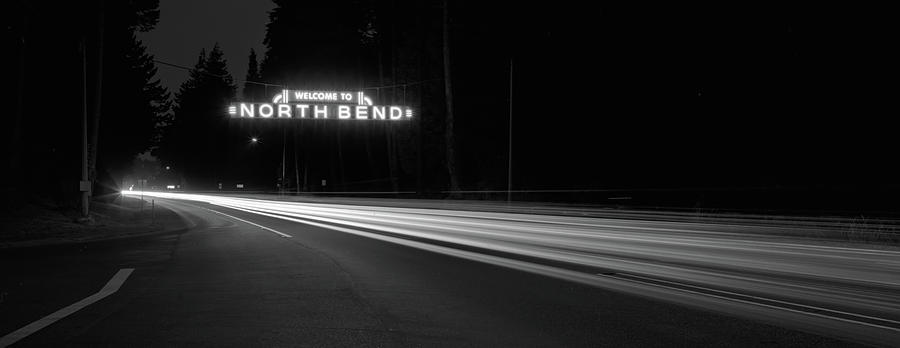 Night Photograph - Leaving North Bend by HW Kateley