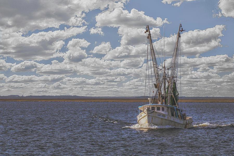 Leaving Swan Quarter by Jim Dollar