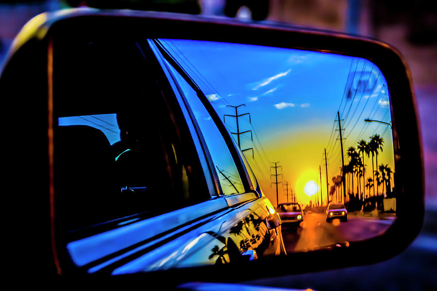 Sunset Photograph - Leaving the Sun Behind by Kyle Field