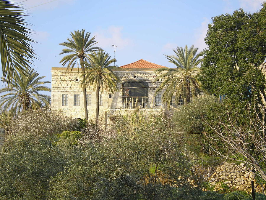 House Photograph - Lebanese Old House by Sleiman Moussa