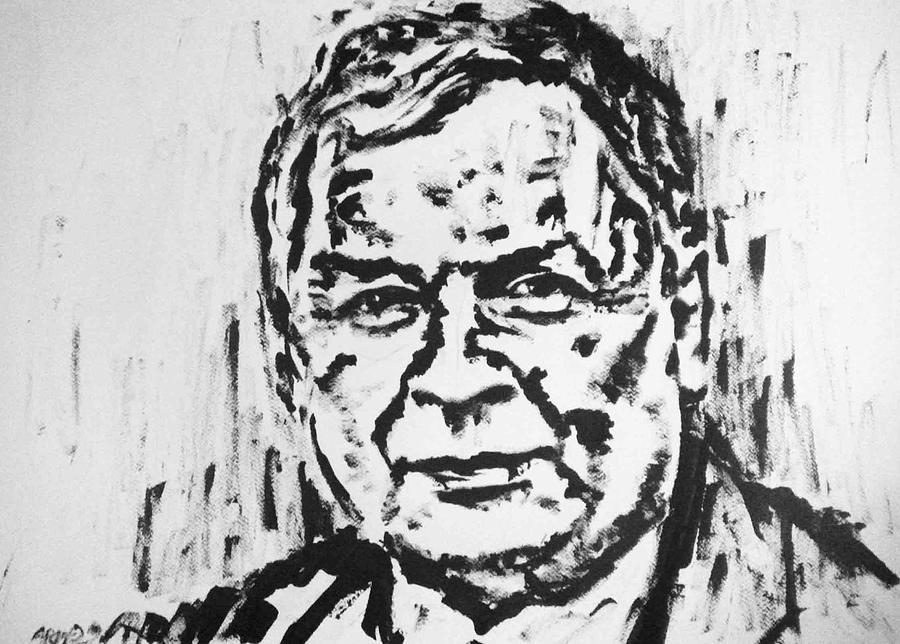 Lech Kaczynski - Poland Painting by Alireza Mobtaker