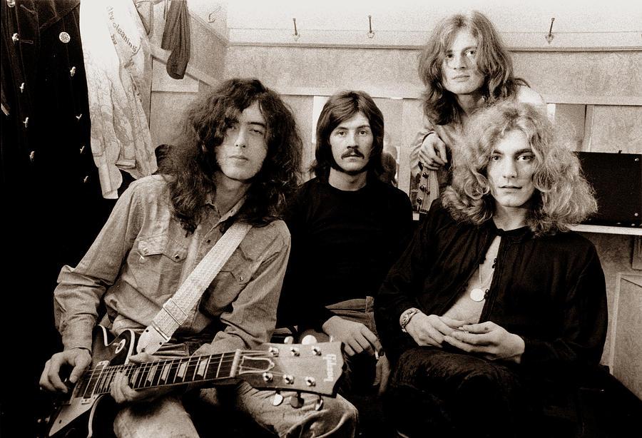 Led Zeppelin Photograph - Led Zeppelin 1969 by Chris Walter