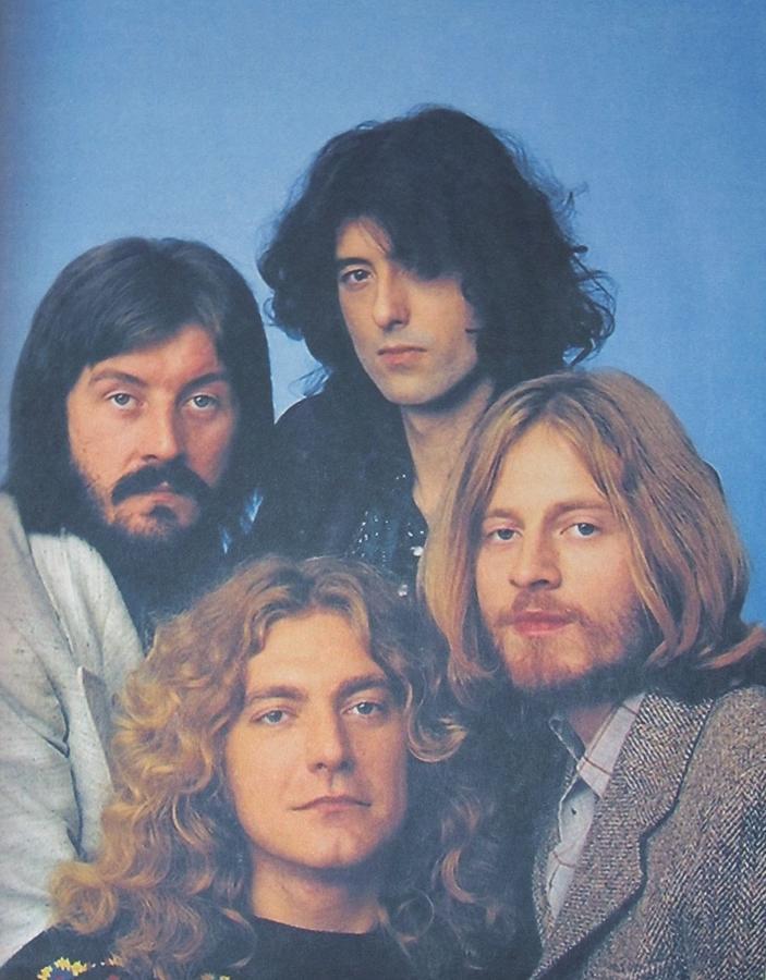 Led Zeppelin Photograph - Led Zeppelin by Donna Wilson