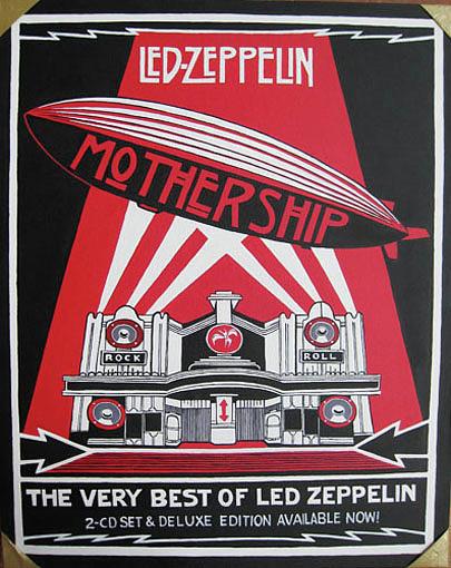Led Zeppelin Painting - Led Zeppelin by Sam Hain