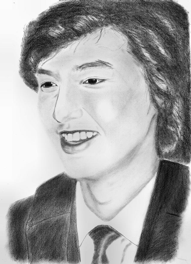 Realistic Drawing - Lee Min Ho by Kanase Hangputjaikarn